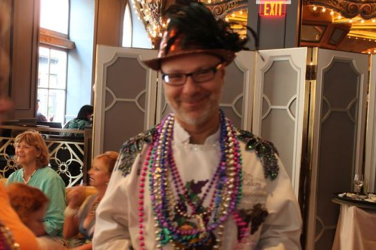 Ron Ben-Israel Dressed for the Festivities
