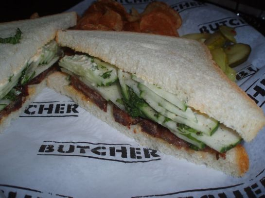 Pork Belly Sandwich from Cochon Butcher
