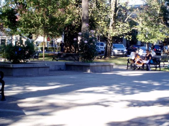 Healdsburg Plaza