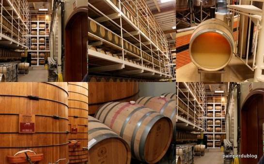 Barrel Room at Jordan Winery