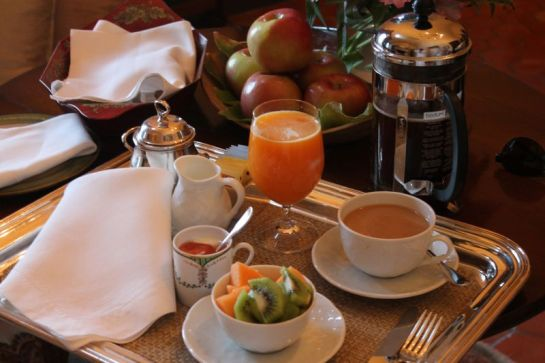Continental Breakfast at#Jordan Winery