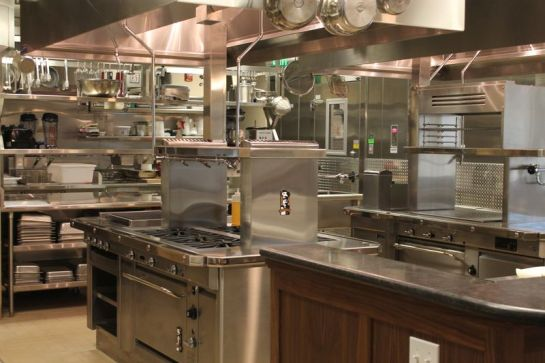 Kendall Jackson Winery's Kitchen