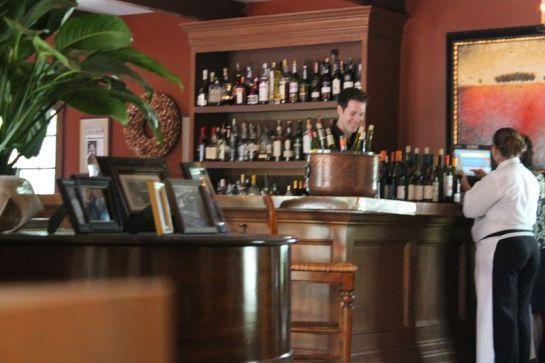 Bar at La Provence