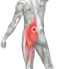 Pressure Points Diagram Massage Semi Truck Trailer Plug Wiring Therapy For Low Back Pain 12 Showing The Rough Location Of Perfect Spot No A Common Trigger Point