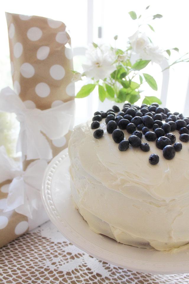 Blue Berry Cake, Birthday
