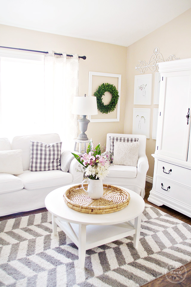 simple clean living room design good ideas for decor cozy paint me pink a clutter free