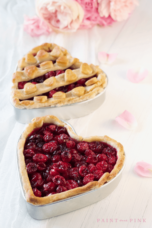 Cranberry Heart Pies