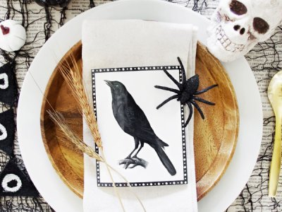 Vintage Crows Printables