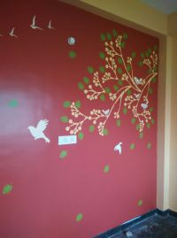 Stencil Works PD4 Wall Design Painting  Paint Decors ...