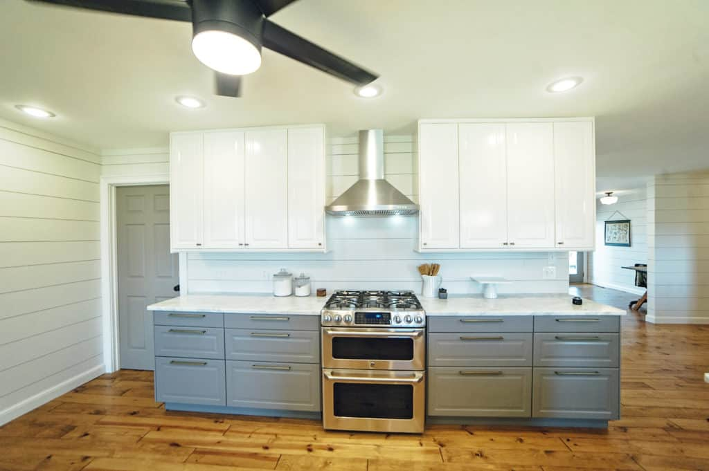 home depot kitchen light fixtures supplies stores our fixer upper remodel before and after-painted ...