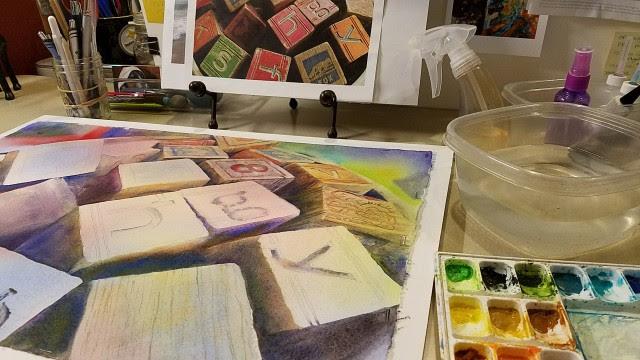 "10 things to do in the studio when ""art"" isn't happening"