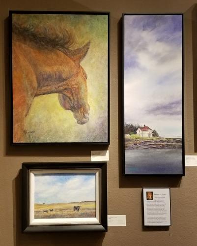 March/April paintings at Parklane