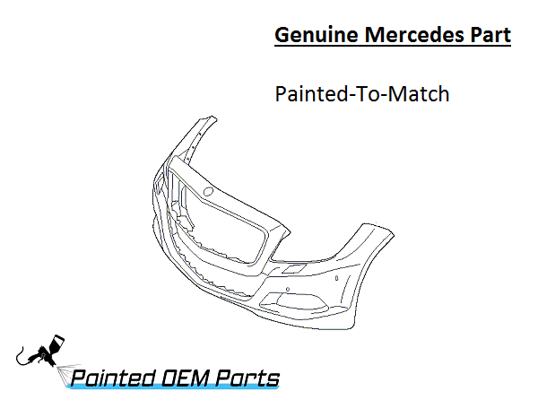 Painted Mercedes CLS Class AMG Genuine Factory/ OEM Front