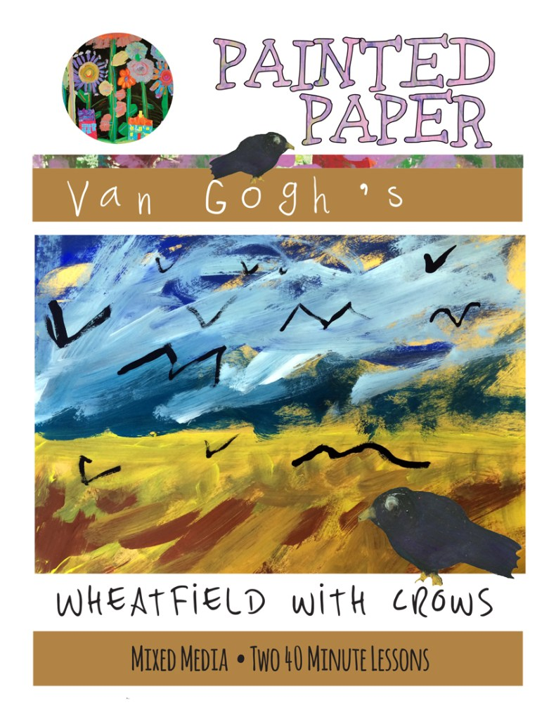 VanGogh Wheatfield cover
