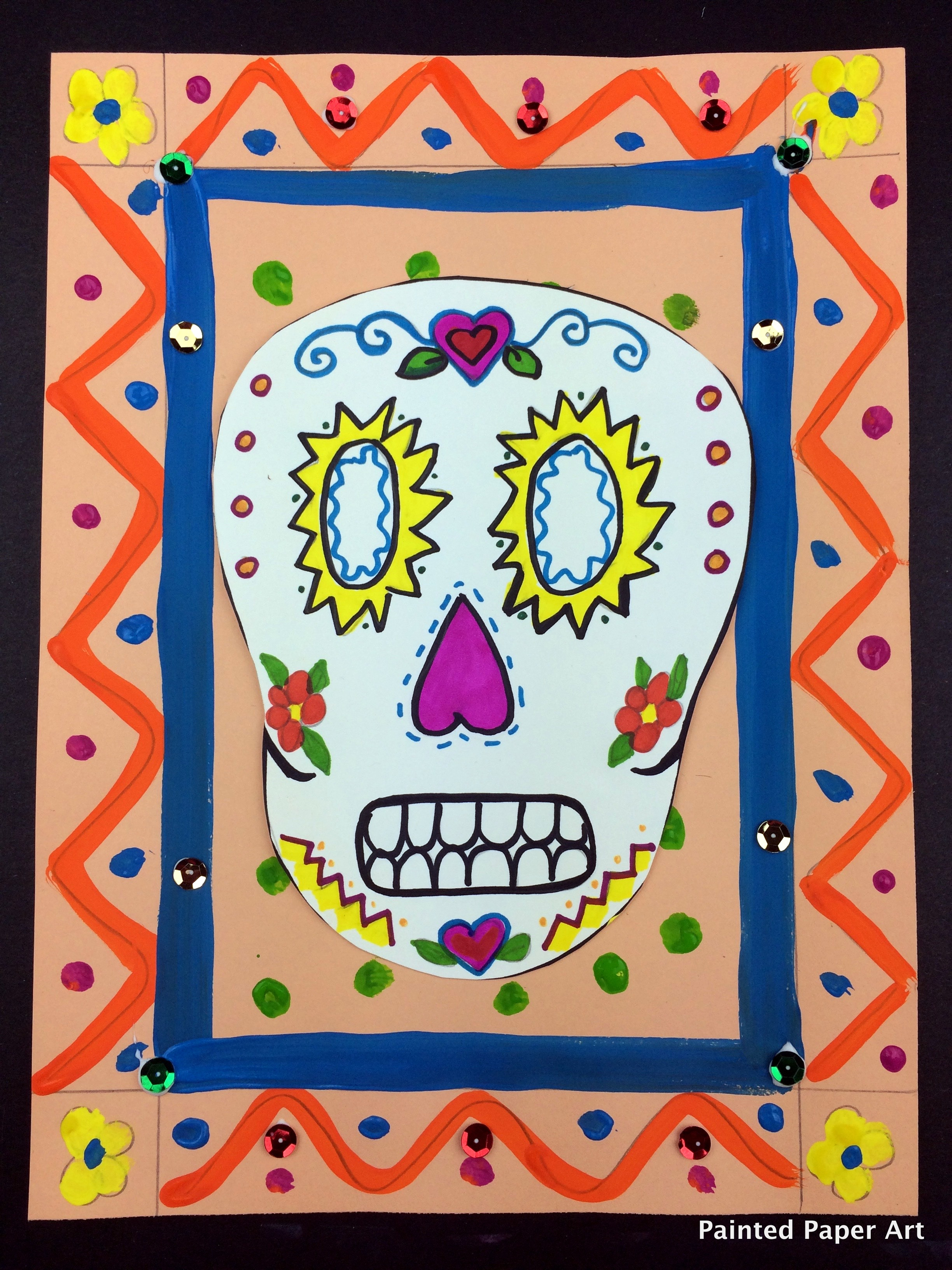 Day Of The Dead Art Projects Elementary