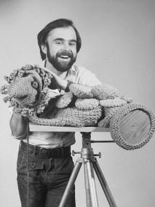 Peter Blais as a Toronto Fibre Artist in 1975