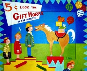 5cent gift horse.jpg 1st print