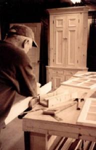 IMAG005A.JPG Tom working on the cupboard doors