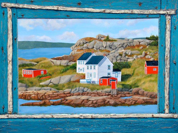 A Newfoundland Redoubt by Tom Alway