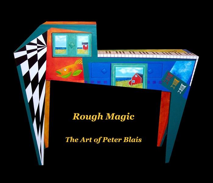 Peter Blais' fun and folk art