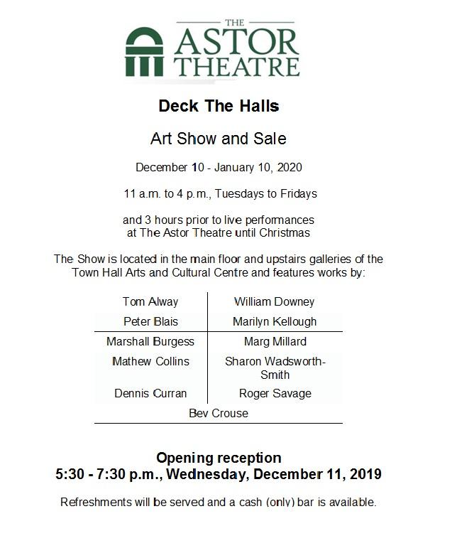 Art-Show-Poster Astor Theatre