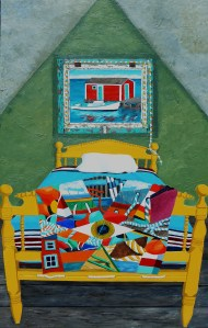 A Crazy Quilt in the Land of Nod, Artist Tom Alway