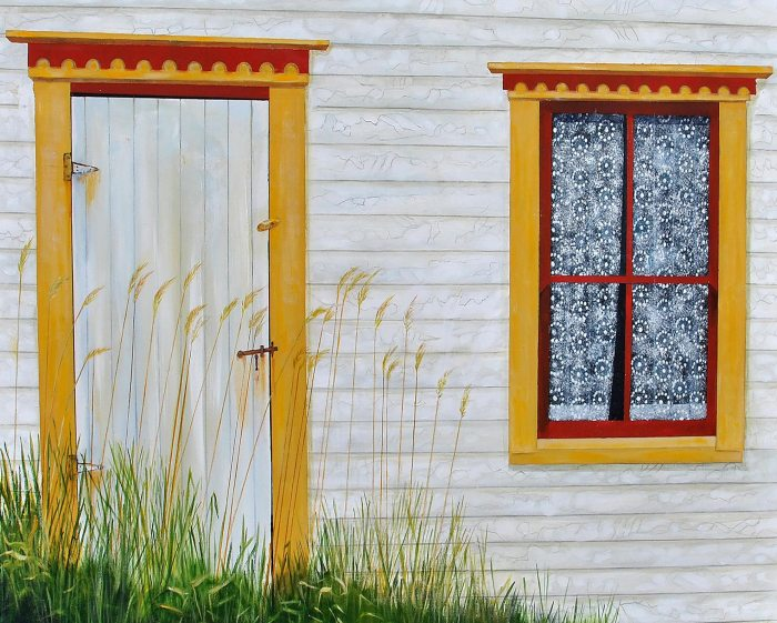 Time Capsule by Peter Blais 16 x 20 Metal Print at the Maritime Painted Saltbox Fine Art Gallery in Petite Riviere Nova Scotia