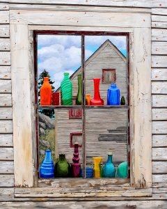 Sea Debris Sea Glass Metal Print 16 x 20 by Tom Alway at the Maritime Painted Saltbox Fine Art Gallery in Petite Riviere Nova Scotia