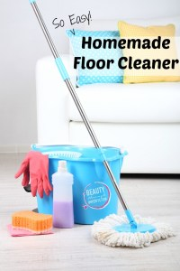 Homemade Floor Cleaner Using essential oils