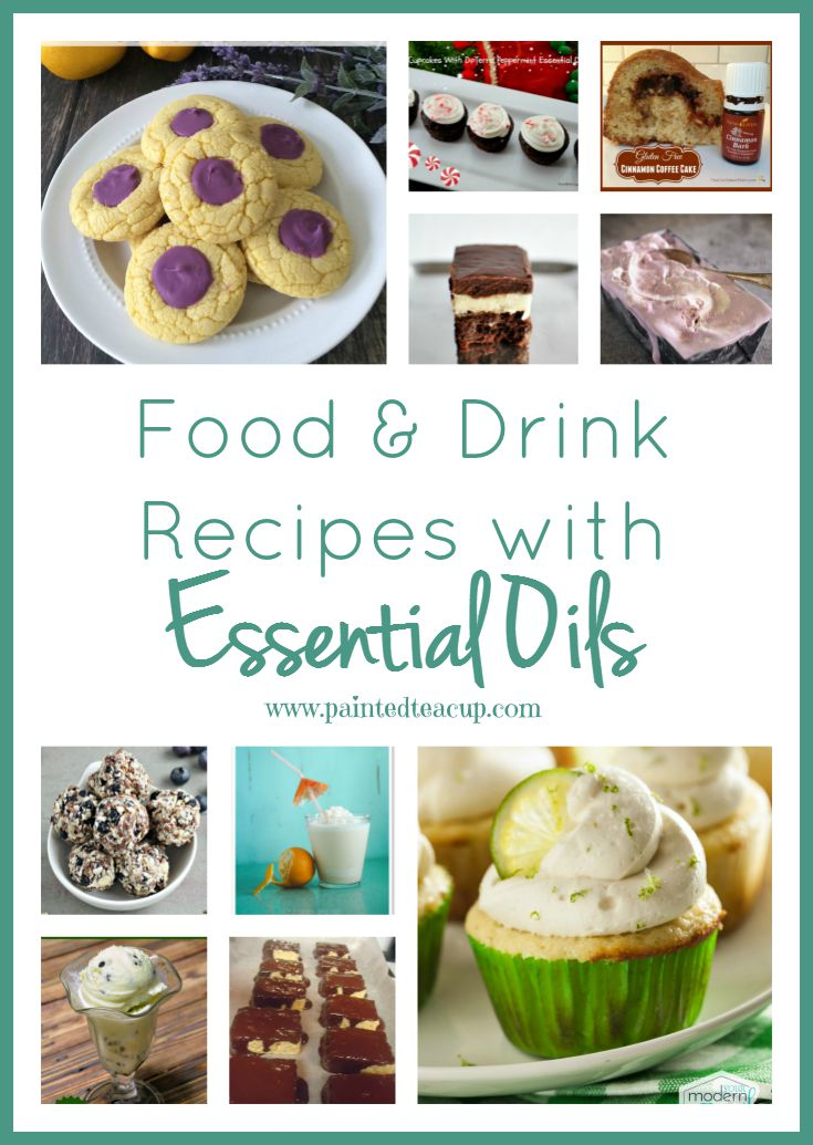 Food drink recipes with essential oils food drink recipes with essential oils desserts ice cream snacks and drinks forumfinder Images