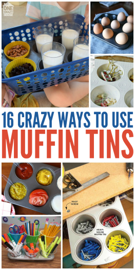 16 ways to use muffin tins