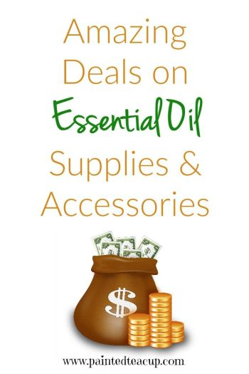 Amazing essential oil deals on essential oil supplies & accessories! Saving available in both Canada & USA.