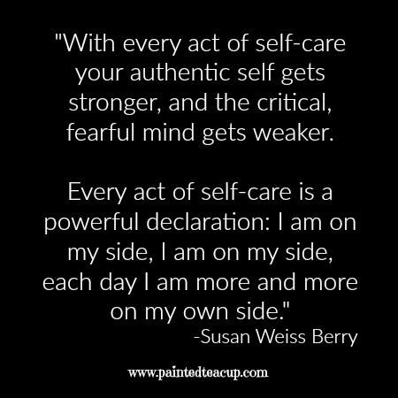 "Self-care quotes. ""With every act of self-care your ..."