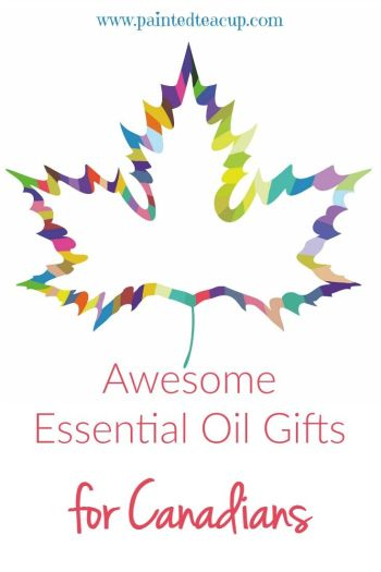 A great list of essential oil gift ideas available in Canada! These gifts are perfect for Christmas, birthdays & Mother's Day!