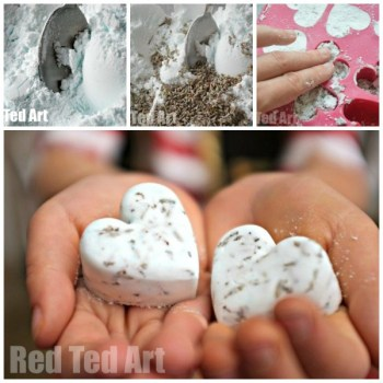 Bath bombs to make with kids- DIY Essential Oil Gifts