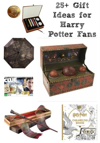 Do you have a HP fan in your life? If so they are sure to adore these 25 Harry Potter gift ideas perfect for Christmas, birthdays & much more!