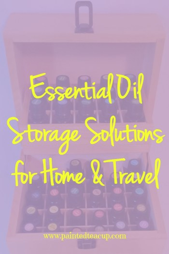 Learn about my favourite essential oil storage solutions for home and travel and enter to win a 68 bottle essential oil box & carrying case!