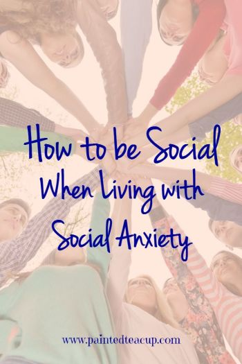Living with social anxiety doesn't mean that you have to miss out on having a social life! Here are simple and actionable tips to help you be social when living with social anxiety!