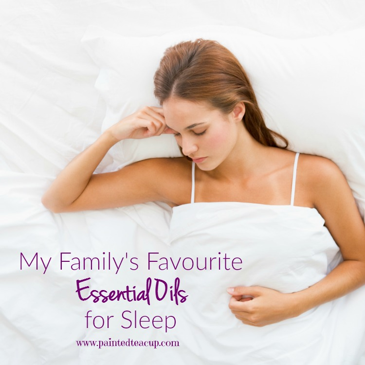 There are many different essential oils that can be used for sleep. Today I am going to share my family's favourites!