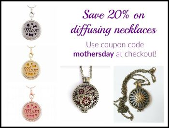 Essential Oil Mother's Day Gift Ideas - Diffusing necklace & jewelry