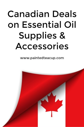 Find great savings and deals on Canadian essential oil supplies & accessories! This post is always changing so check back often!