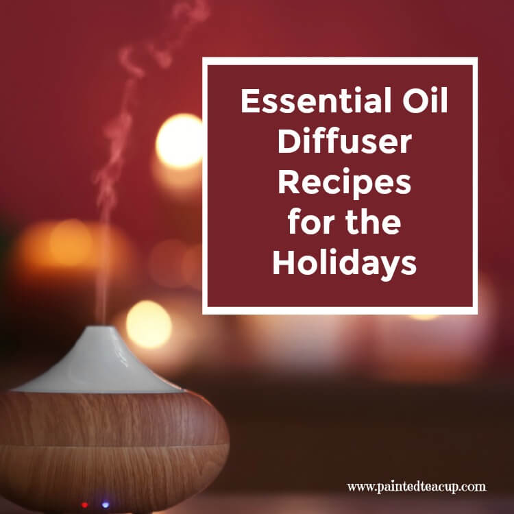 Essential Oil Diffuser Recipes for the Holidays