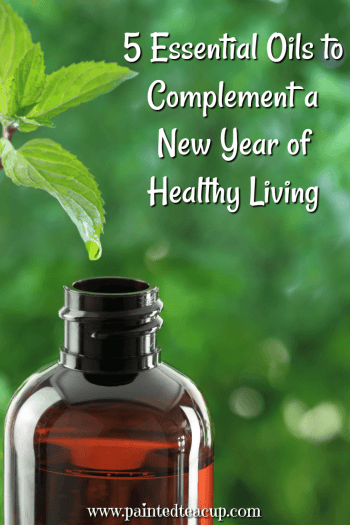 Essential oils can complement a new year of healthy living and provide the ongoing support you need to stay on track and make 2018 your healthiest year yet. #essentialoils #essentialoilsforhealthyliving