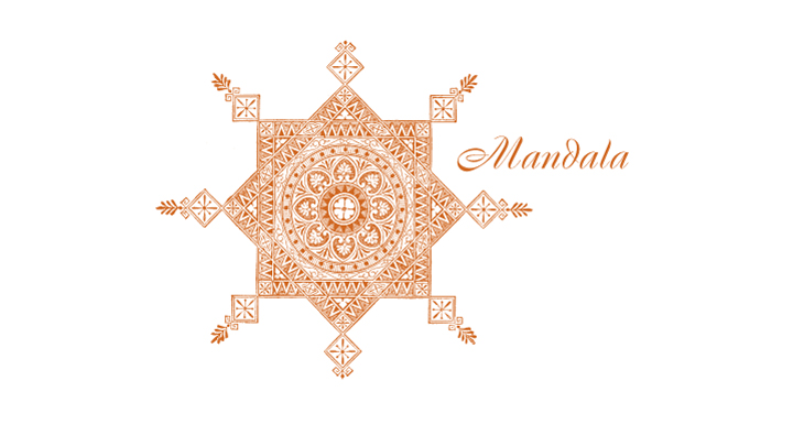 Mandala - an intricately detailed Indian Mandala design