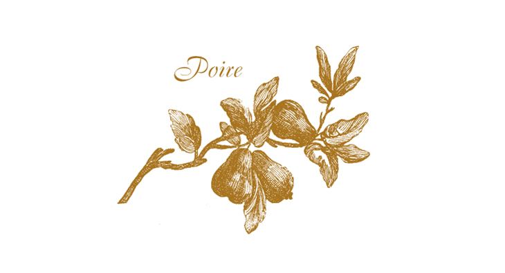 Poire - a Victorian style pear branch
