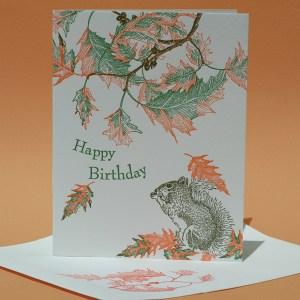 Red Oak Happy Birthday