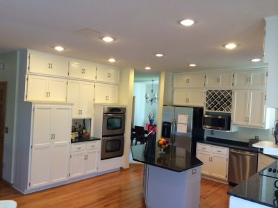 colors to paint kitchen cabinets gray rugs tips for matching your countertops, cabinets, and flooring ...