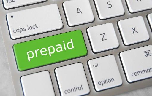 プリペイドによる入金方法