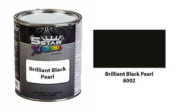Brilliant-Black-Pearl-Urethane-Paint-Kit-5-Star-Xtreme