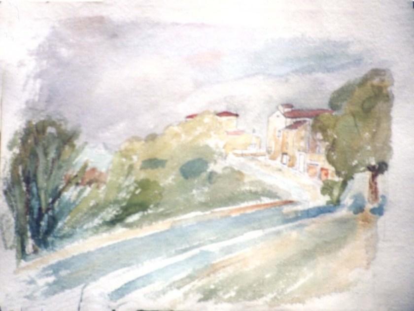 Bob Huston painting